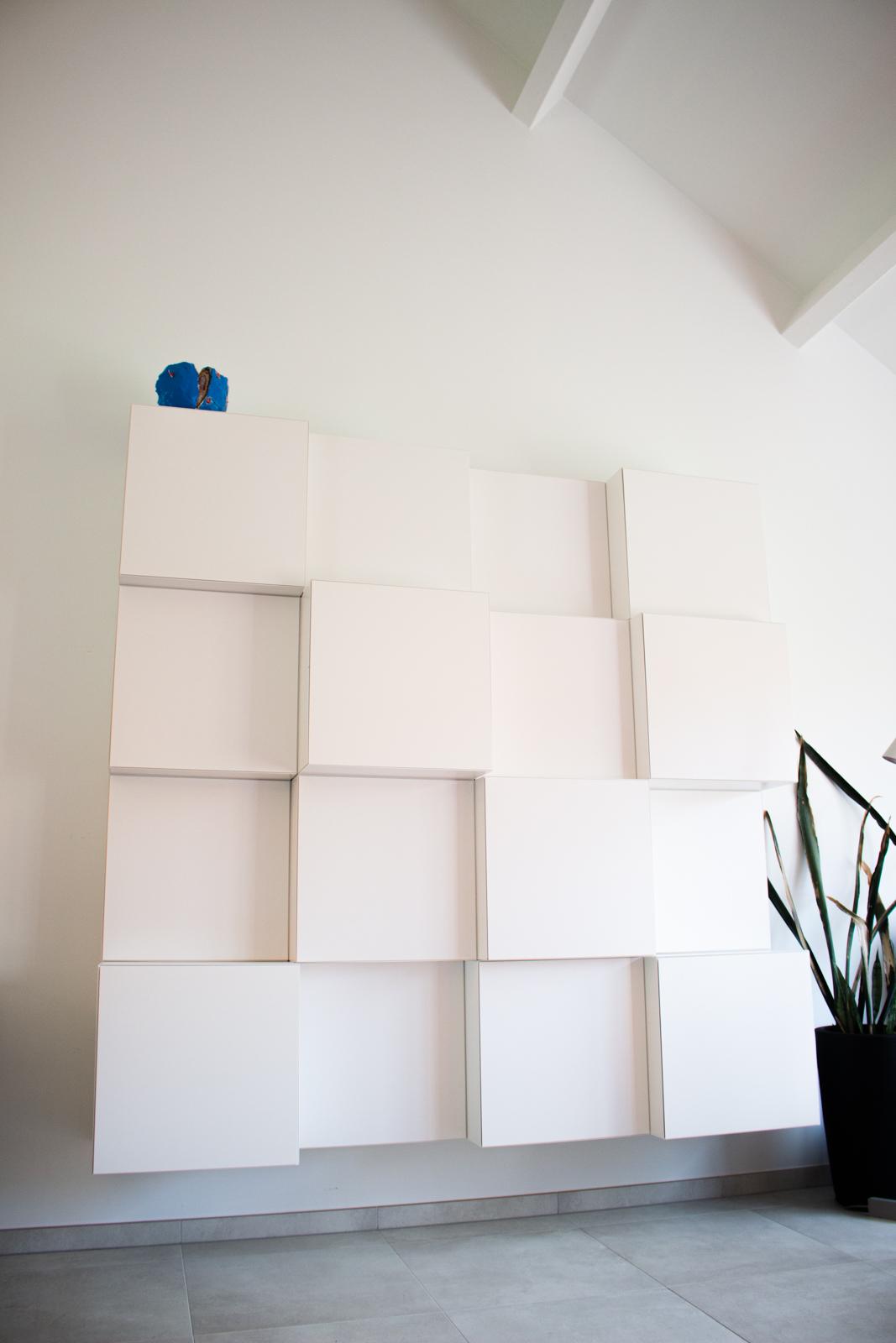 kast vision, aanpassing en aanvullen van bestaande kast in nieuwe locatie